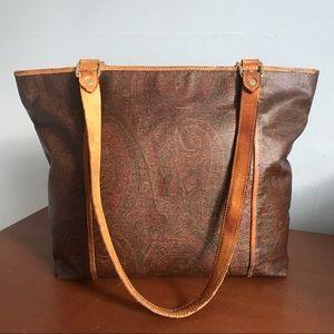 Authentic Vintage Paisley Etro Tote Bag
